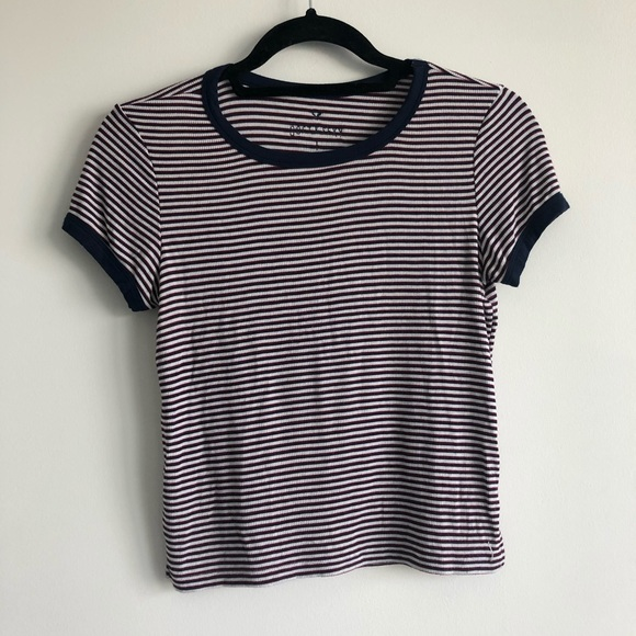 american eagle soft & sexy stripped t shirt XS